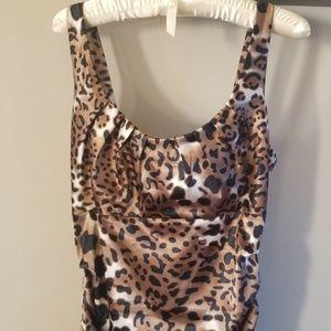 Newport News Animal Print Dress